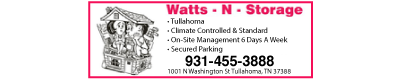 Watts-N-Storage of Tullahoma